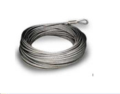 100' 1/4'' 7x19 Galvanized Pre-Cut Cable
