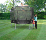 Trampoline Tie-down Kit Complete with Ratchet Straps