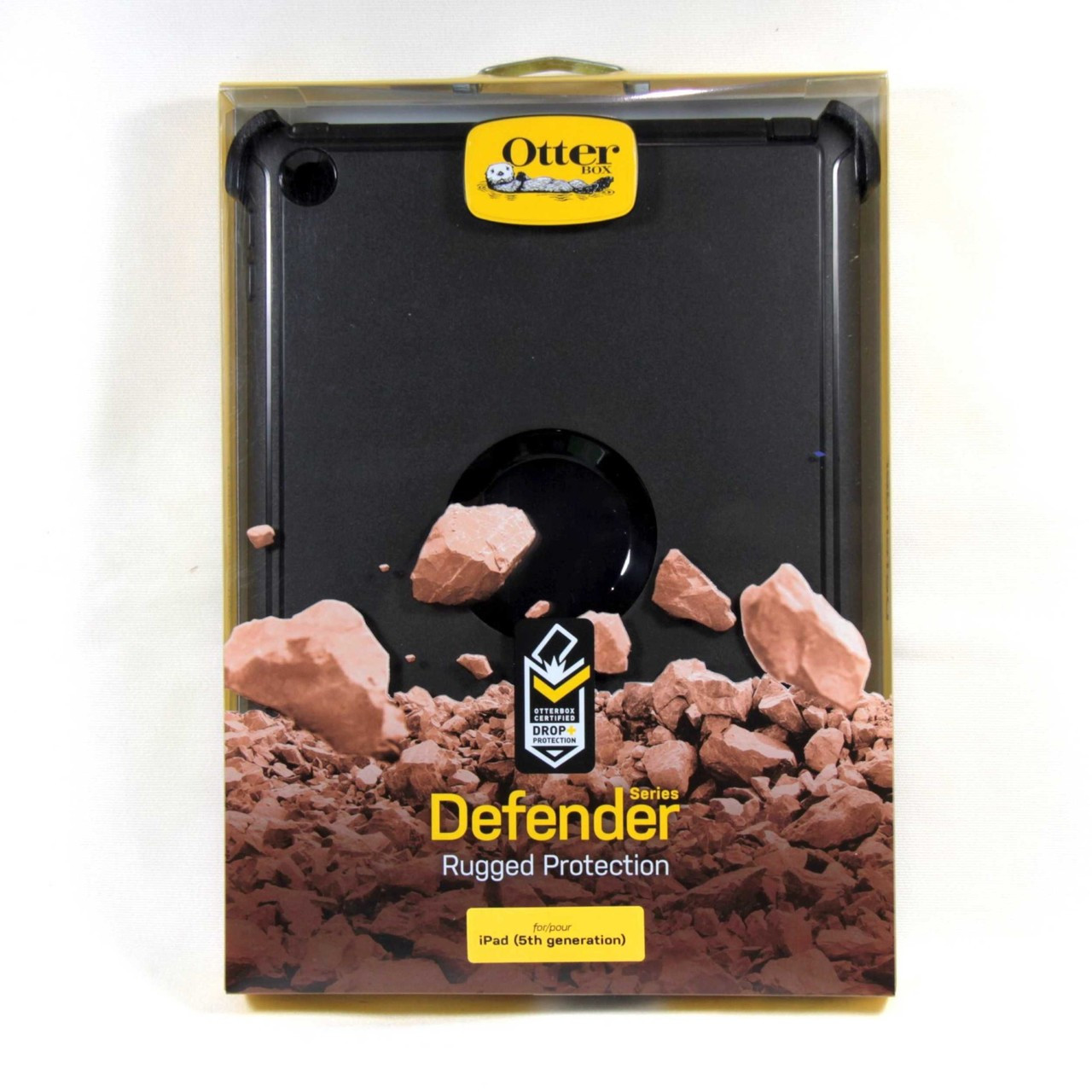 low priced 45c31 42417 Otterbox Defender Case for iPad 6 2018 iPad 5 2017 9.7 Black