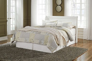 Ashley Anarasia White Queen Sleigh Headboard