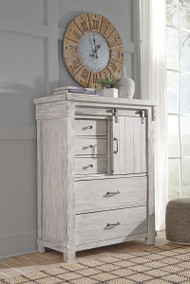 Ashley Brashland White Five Drawer Chest