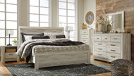 Ashley Bellaby Whitewash 7 Pc. King Panel Bed Collection