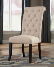 Ashley Tripton Linen Dining Upholstered Side Chair(Set of 2)