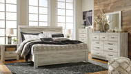 Ashley Bellaby Whitewash 8 Pc. King Panel Bed Collection