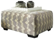 Ashley Eltmann Slate Oversized Accent Ottoman