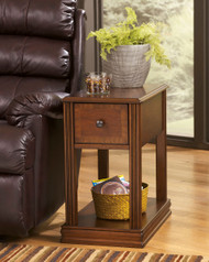 Ashley Breegin Brown Chair Side End Table