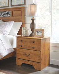 Ashley Bittersweet Light Brown Two Drawer Night Stand