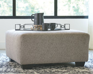 Ashley Ballinasloe Platinum Oversized Accent Ottoman