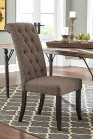 Ashley Tripton Graphite Dining Upholstered Side Chair(Set of 2)