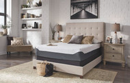Sierra Sleep 12 Inch Chime Elite White/Blue Twin Mattress