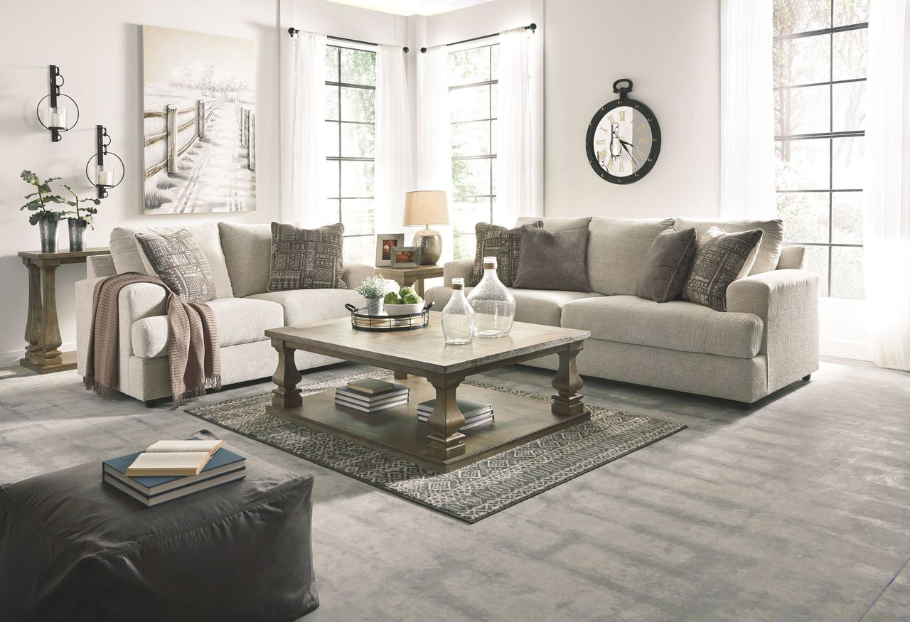 Brilliant Ashley Soletren Stone Sofa Loveseat Gmtry Best Dining Table And Chair Ideas Images Gmtryco