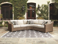 Ashley Beachcroft Beige 3 Pc. Sectional Lounge