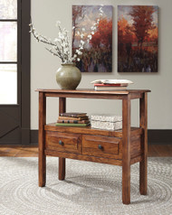Ashley Abbonto Warm Brown Accent Table