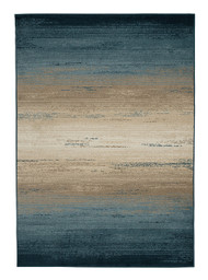 Ashley Ignacio Blue/Tan Large Rug