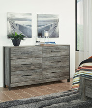 Ashley Cazenfeld Black/Gray Dresser