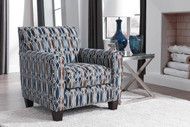 Ashley Creeal Heights Ink Accent Chair