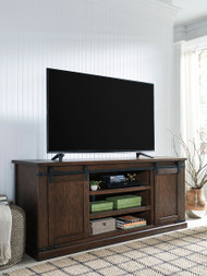 Ashley Budmore Rustic Brown Extra Large TV Stand