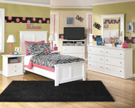 Bostwick Shoals 5 Pc. Dresser, Mirror & Twin Panel Bed