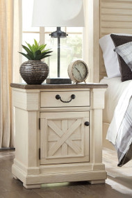 Ashley Bolanburg Two-tone One Drawer Night Stand