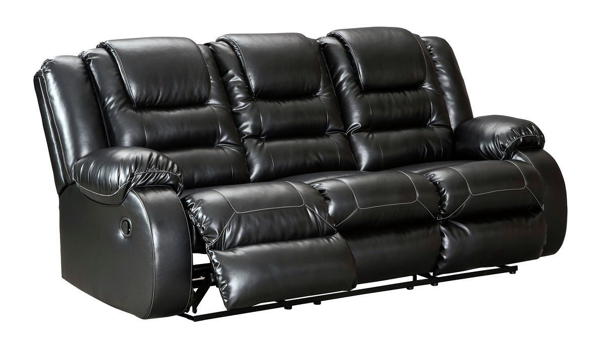 Ashley Vacherie Black Reclining Sofa On Sale At Red Shed Furniture