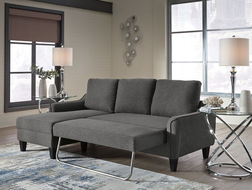 Awe Inspiring Ashley Jarreau Gray Sofa Chaise Sleeper Home Interior And Landscaping Ologienasavecom