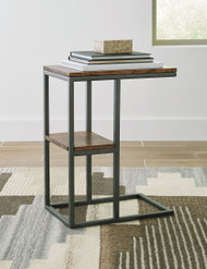Ashley Forestmin Natural/Black Accent Table