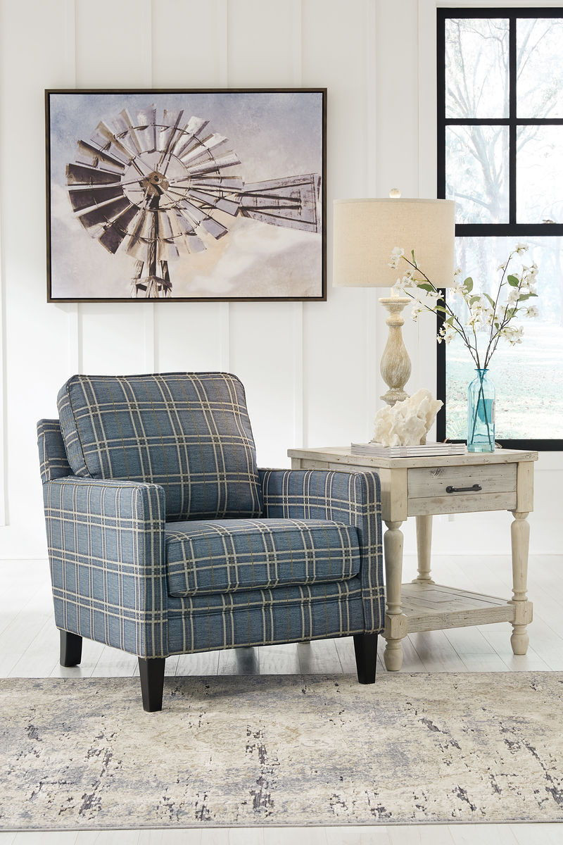 Tremendous Ashley Traemore River Accent Chair Gmtry Best Dining Table And Chair Ideas Images Gmtryco