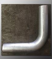 Mandrel Bend - 2.25 Inch OD Tube .065 wall - 90 Degree Aluminized
