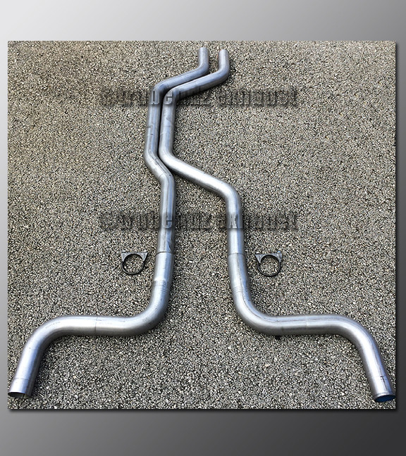 89-97 ford thunderbird dual exhaust tubing system  price: $150 00  image 1