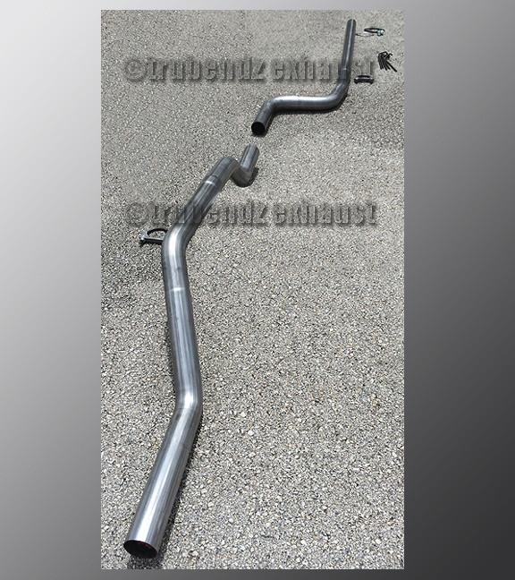 "Mandrel Bend 2.5 Inch Aluminized Steel Tube 90 Degree .065/"" 16ga 2.5/"""