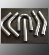 "Mandrel Bend - 2.50"" OD Tube .065 wall - Multi Pack Aluminized"