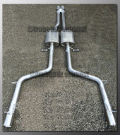 05-08 Dodge Magnum Dual Exhaust - with Borla - 2.5 inch
