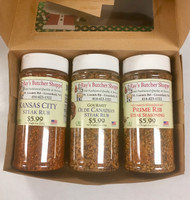 Steak seasoning gift box.