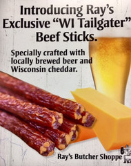 Wi tailgater beer cheese beef sticks