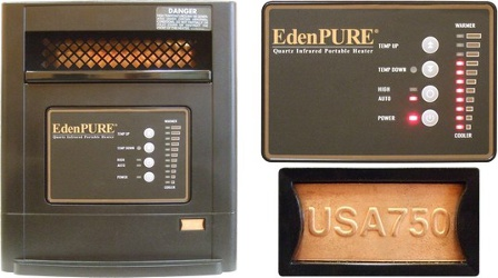 EdenPURE USA 750 Heater