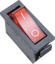 Power Switch -  Fireplace - Black 2 Prong