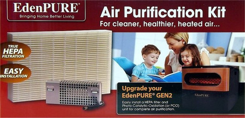 EdenPURE Heater Air Purifier Upgrade