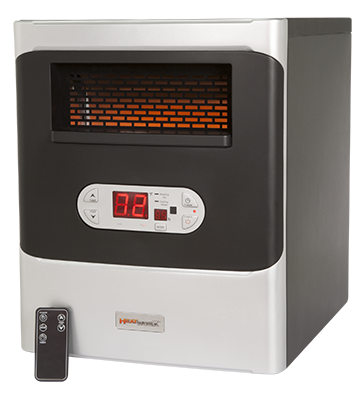 Portable Infrared HeatWorx Heater with Remote Control