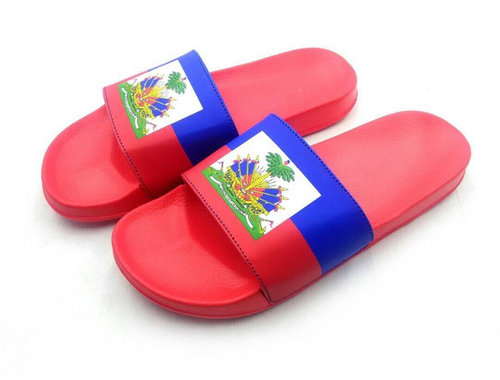 Our Unisex Sandals features a cozy molded foot bed and a leather-like strap.  All while being cozy and comfortable representing your heritage.