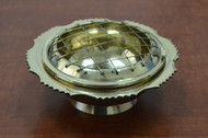 Handmade Brass Incense Burner Circle Lamp