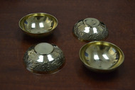4 Pcs Handmade Brass Incense Burner Holder 2 1/2""