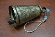 "Handmade Rusty Metal Iron Bell 7"""
