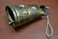"Handmade Iron Metal Rusty Bell 7"""