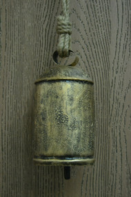 Handmade Rusty Metal Iron Bell 8""