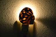 Black Cyprea Pica Turbo Shell Nightlight