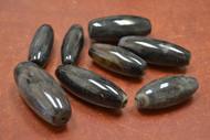 15 Pcs Black Onyx Gemstone Tube Beading Beads