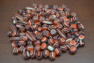 "400 Pcs Assort Red & White Resin Plastic Beading Beads 1/2"" - 1 1/4"""