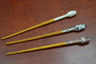 Mother Of Pearl Shells Wood Hairsticks
