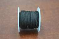 10 Meters Black Leather Suede Beading Cord Roll 2mm