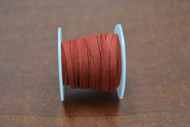 10 Meters Red Leather Suede Beading Cord Roll 2mm